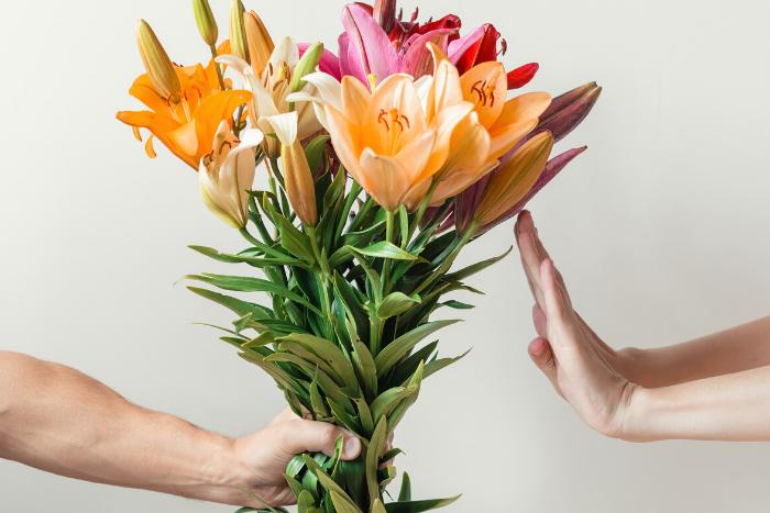 regalare fiori primo appuntamento