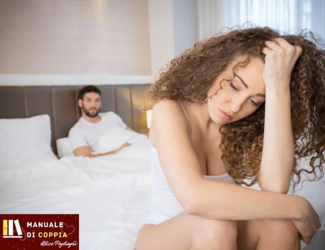 la mia ragazza non ha voglia di fare l'amore